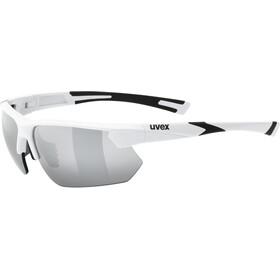 UVEX Sportstyle 221 Lunettes de sport, white/silver